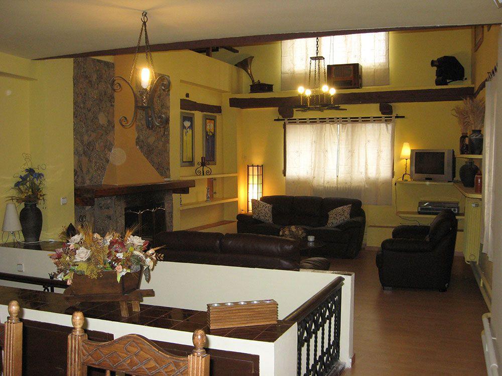Casa rural en medinaceli casa r stica la prima nati - Casas rusticas por dentro ...